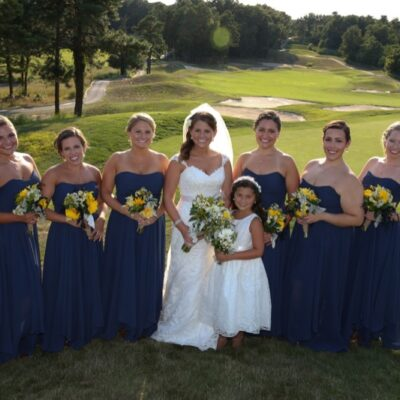 bridesmaids golf course